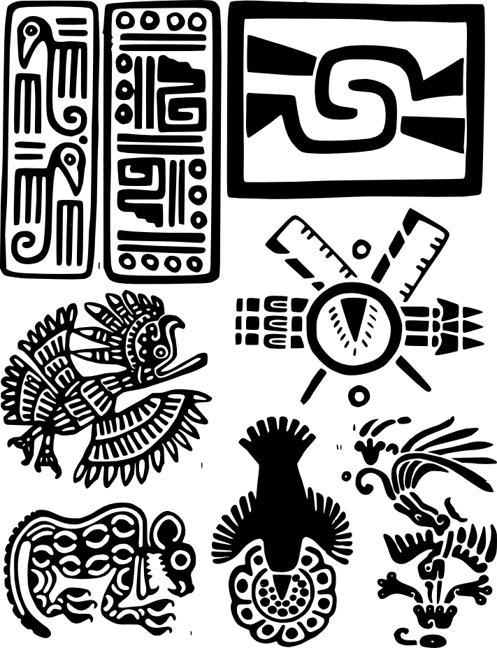 Libro: Diseños del México Antiguo | Encuadérnalo