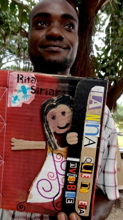 Foto del 1er Encuentro de Cartoneras en Mozambique